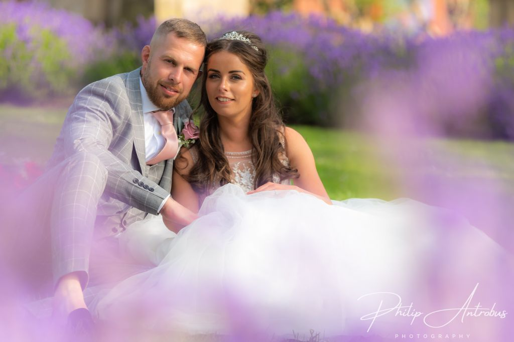 Bride and Groom at St Georges Hall Liverpool